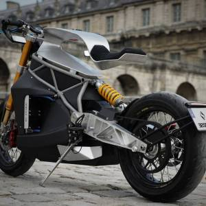 Concept e-raw motorcycle