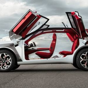 Kia HabaNiro all-wheel drive concept