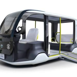 Toyota electric shuttle for 2020 Olympic Games