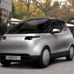 Uniti One three-seater City Car