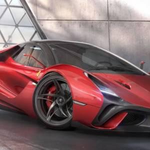 Ferrari Stallone concept supercar