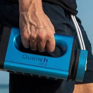 QuenchSea portable device that turns Seawater into Drinking Water