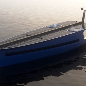 P1 Solar-Powered Sailing Yacht