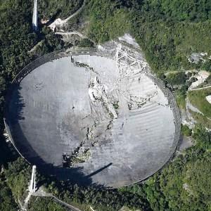 Arecibo SETI Telescope Collapses
