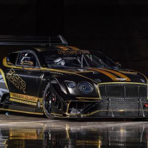 Bentley Continental GT3 Pikes Peak Race Car