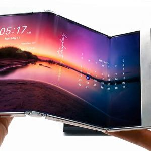 Samsung Display unveils its Foldable, Rollable Displays