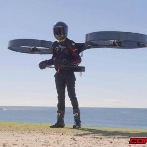 CopterPack rotor Jetpack