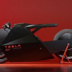 MHC Sokudo Tesla Motorcycle Concept