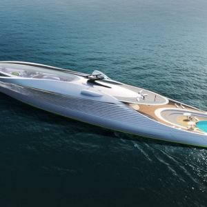 Zero-Carbon Superyacht Concept VY-01