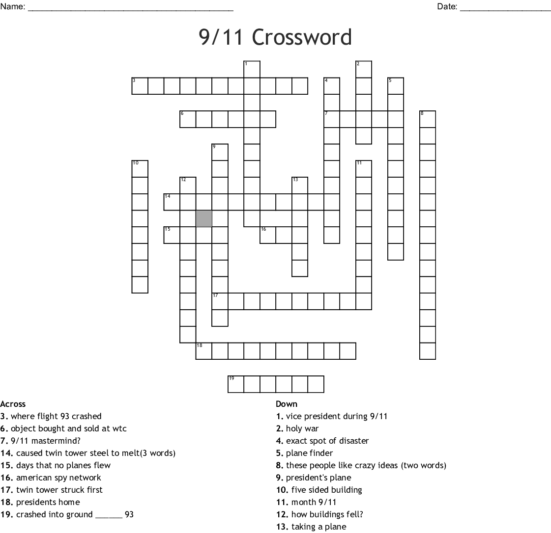 This Is A Disaster Two Words Crossword