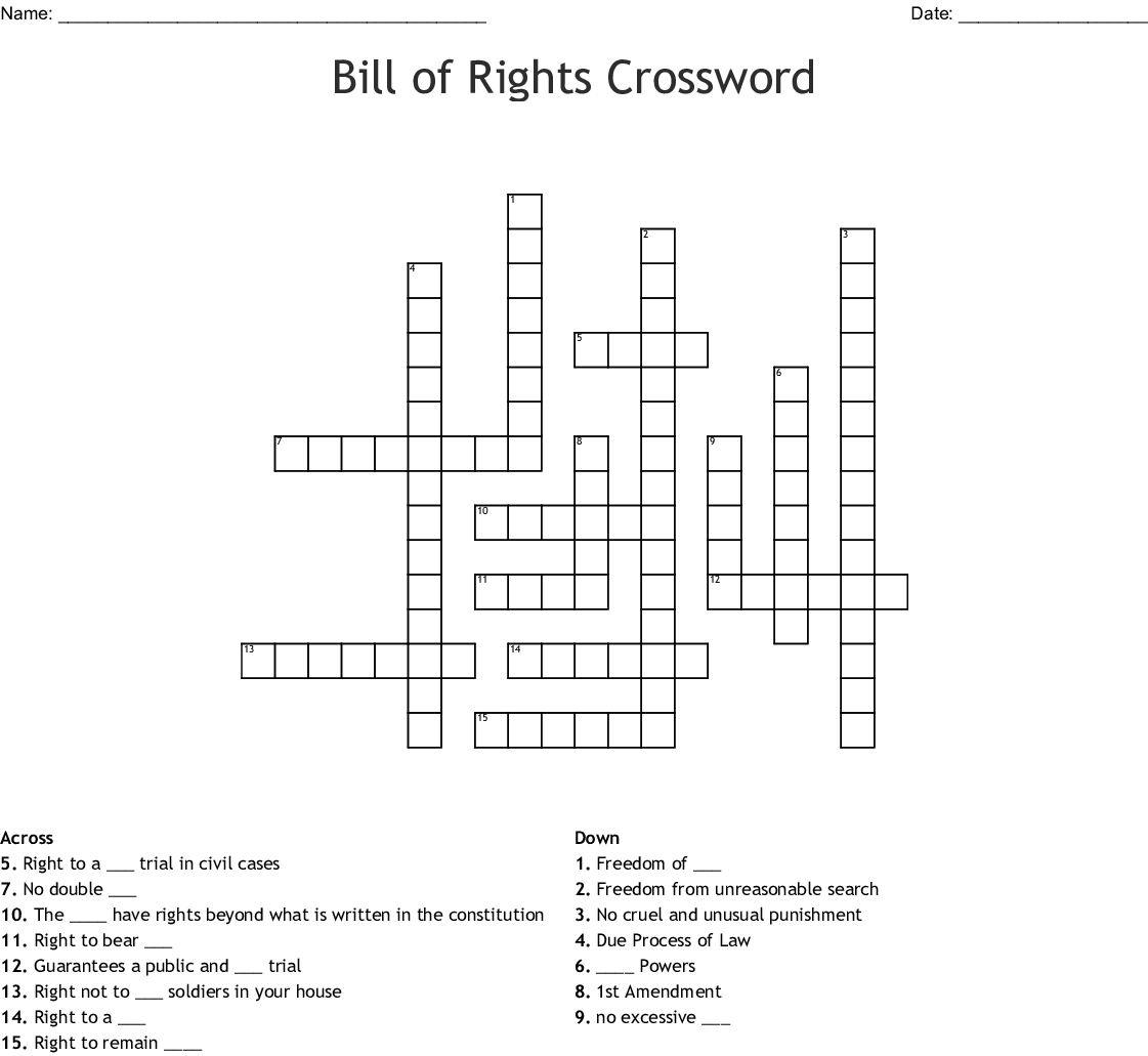 Constitutional Freedoms Chapter 13 Worksheet Answers