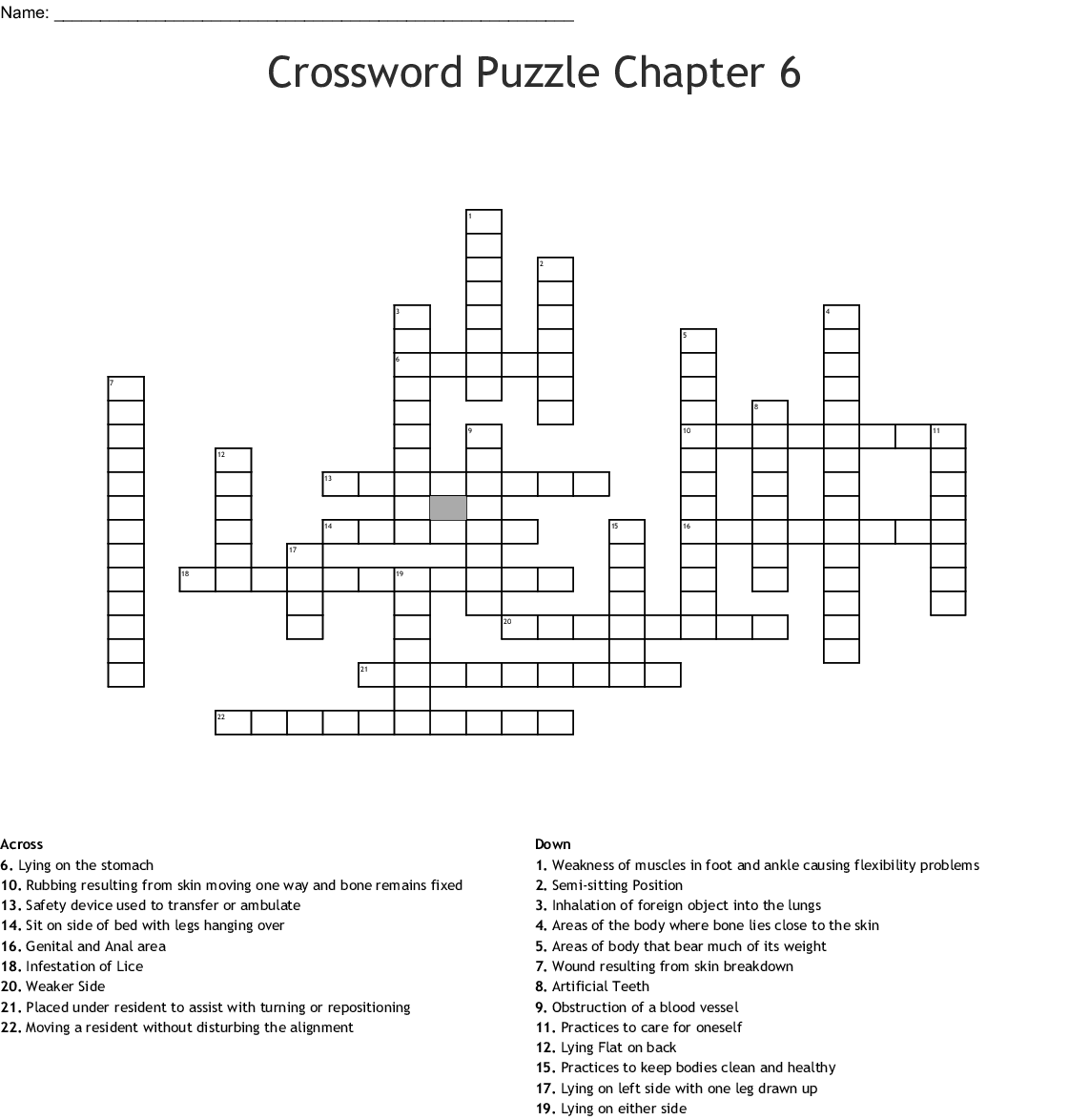 Osha Workers Rights Crossword Puzzle Answers