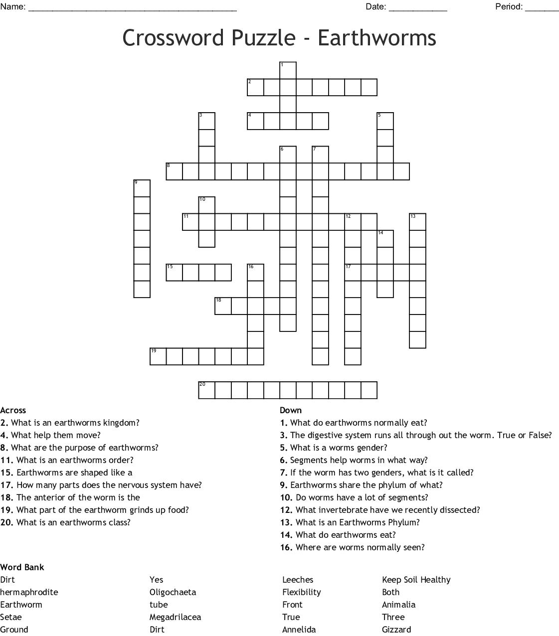 Gymnastics Crossword