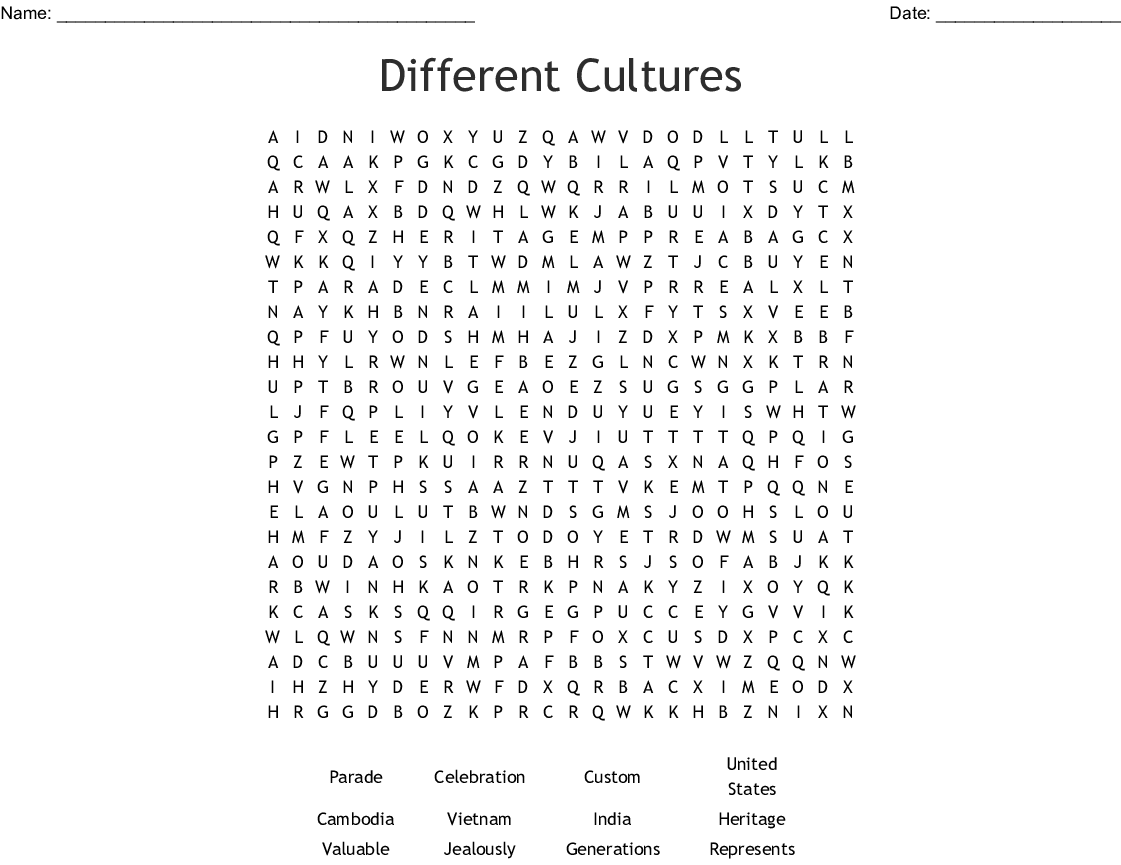 Powerpoint Wordsearch