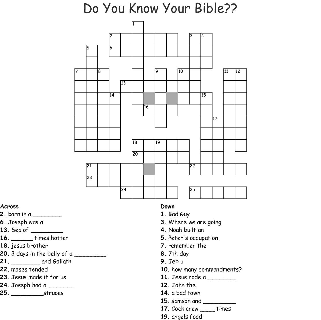 Similar To Bible Bingo Cards