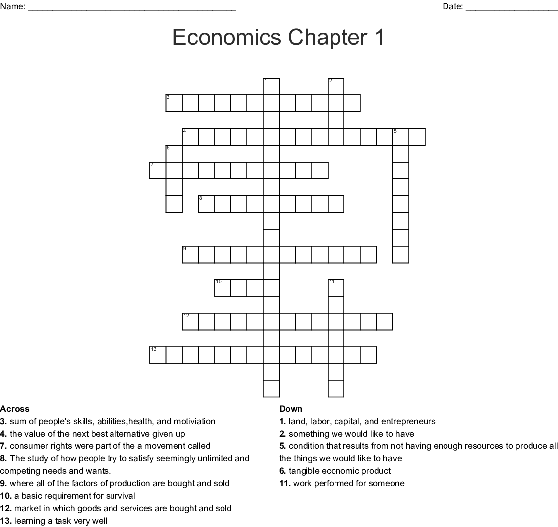 Icivics The Market Economy Worksheet Answers