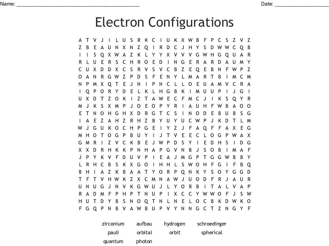 32 Electron Configuration Orbital Diagram Worksheet