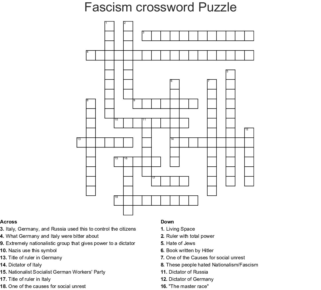 Dystopia Word Search