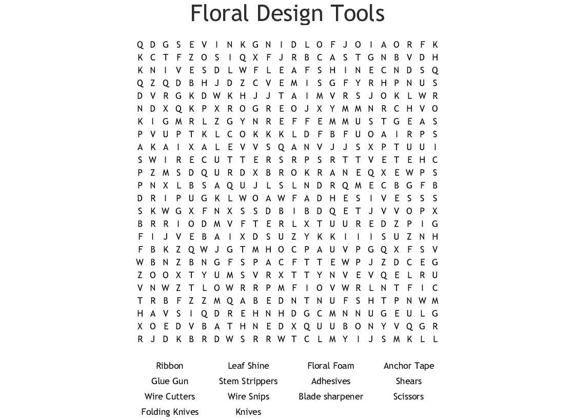 Bloom Floral Design Studio Accompanies Floral Design
