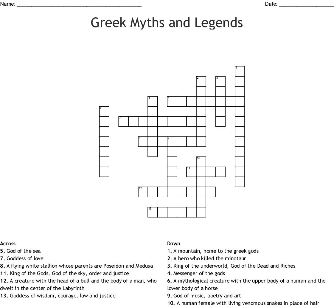 Beautiful Greek God Of Puzzles