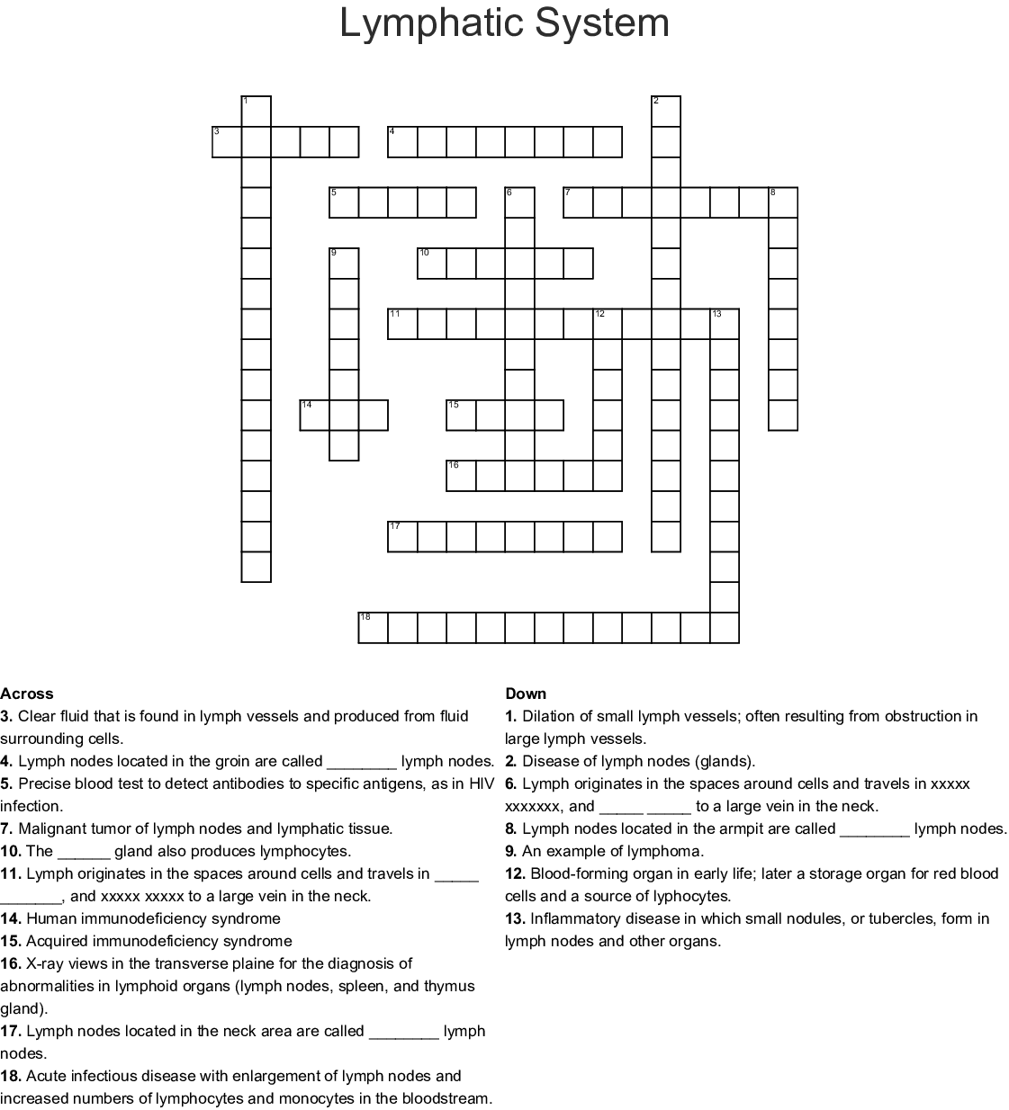 Christmas In July Crossword