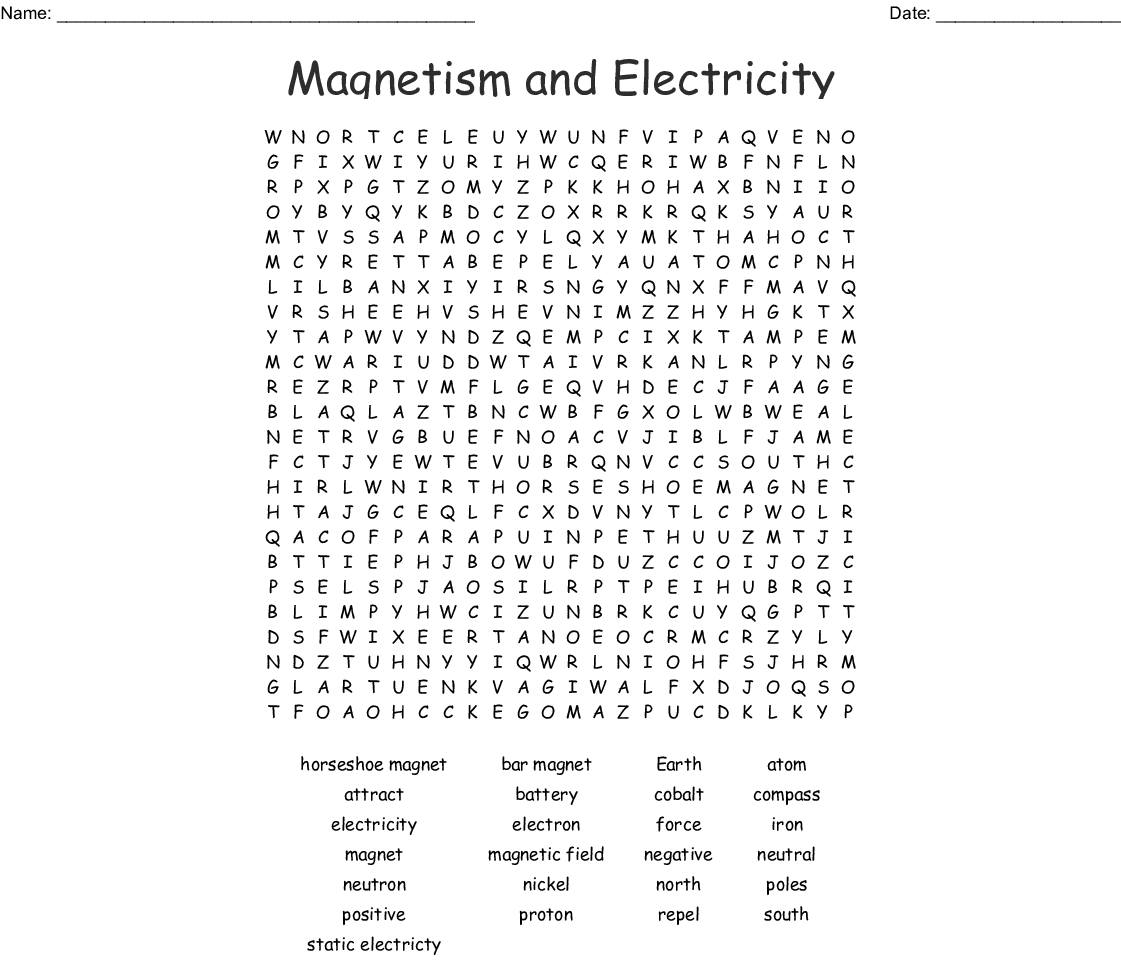 Magnetic Word Search