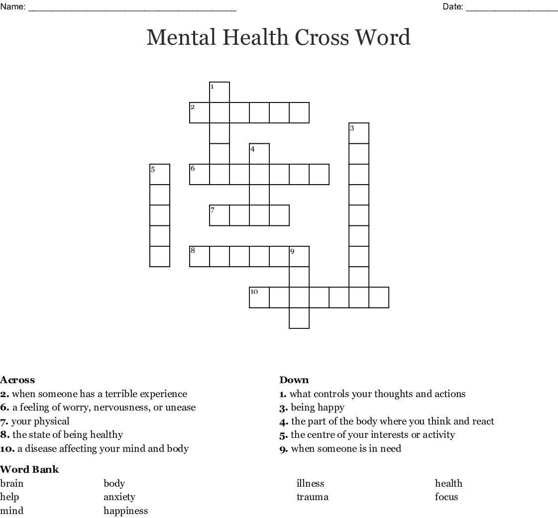 Worry Worksheet