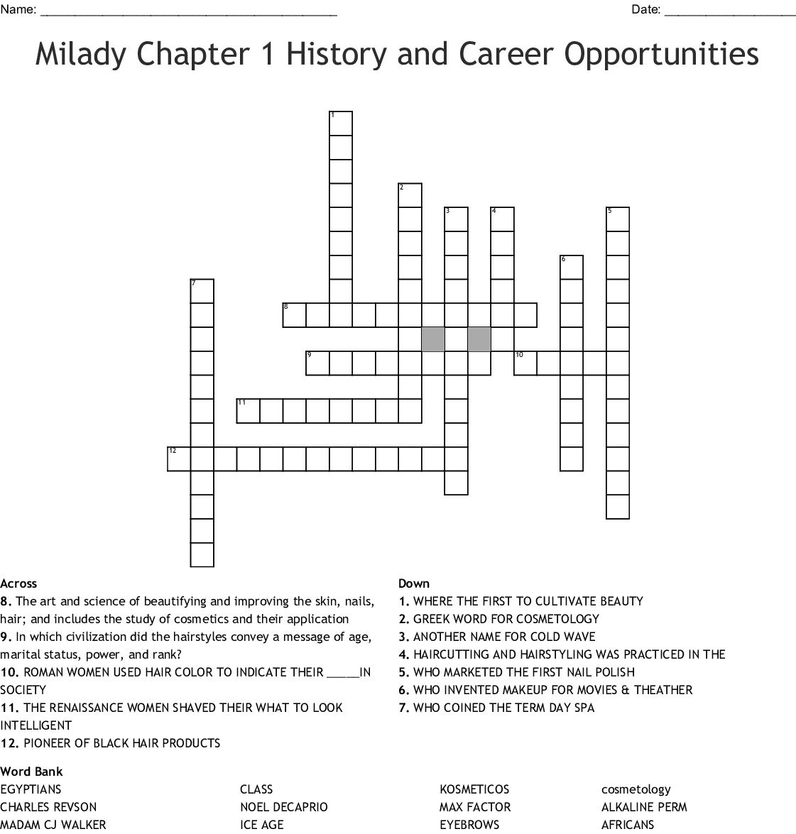 Milady Chapter 1 History And Career Opportunities