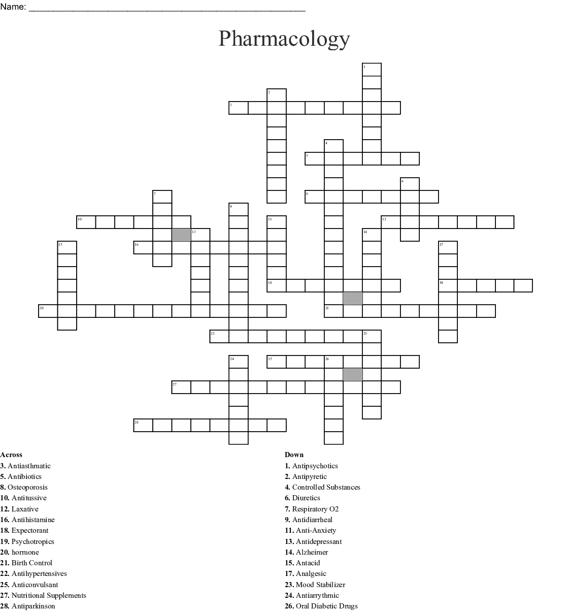 Matching Medications Directions Match The Medication