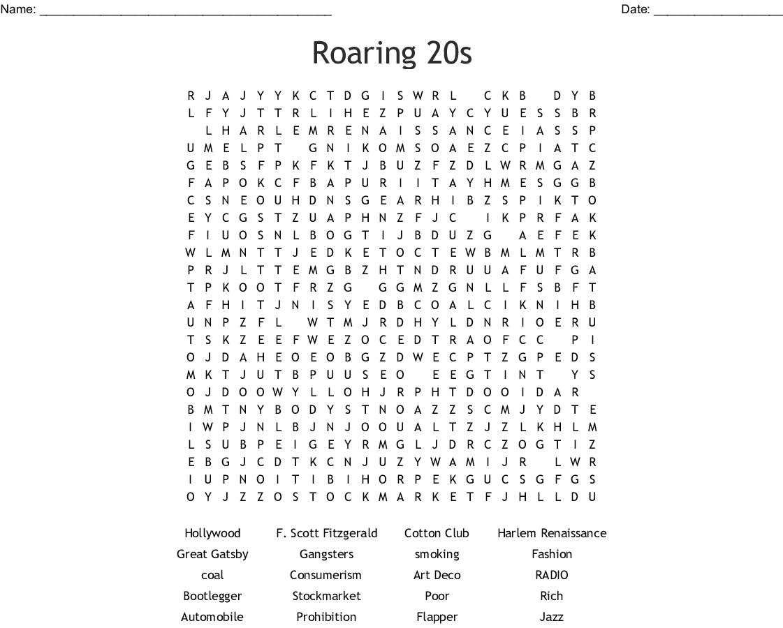 S Word Search