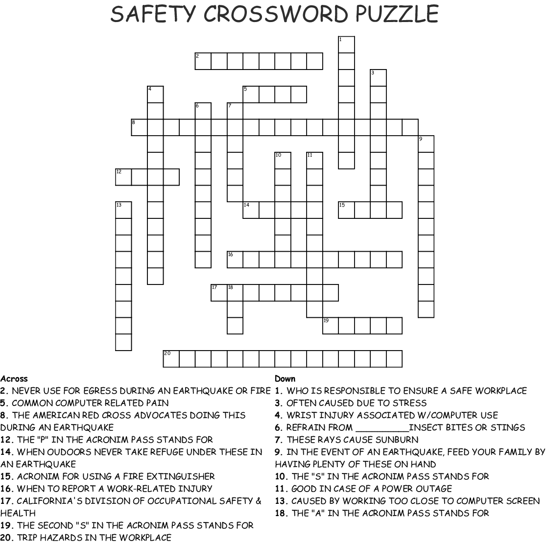 Computer Guru Crossword