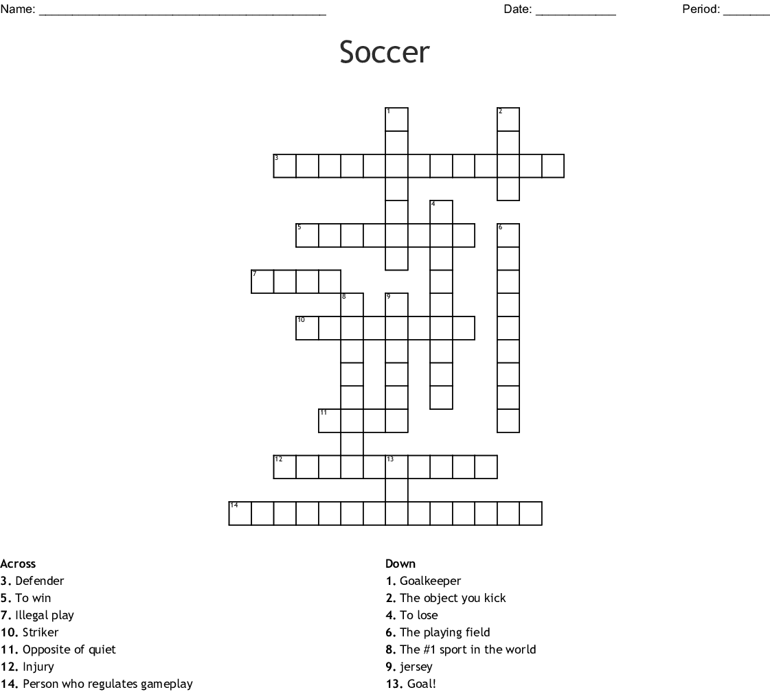 Soccer Showdowns Word Search