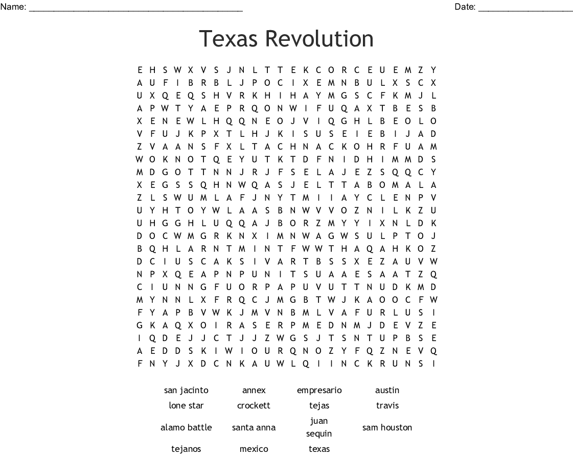 Fiesta Word Search