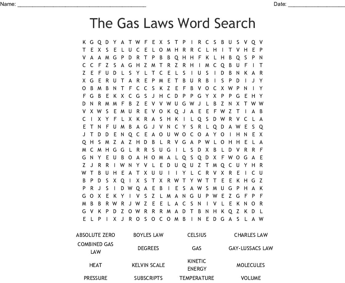 Boyles Law Worksheet Answer Key