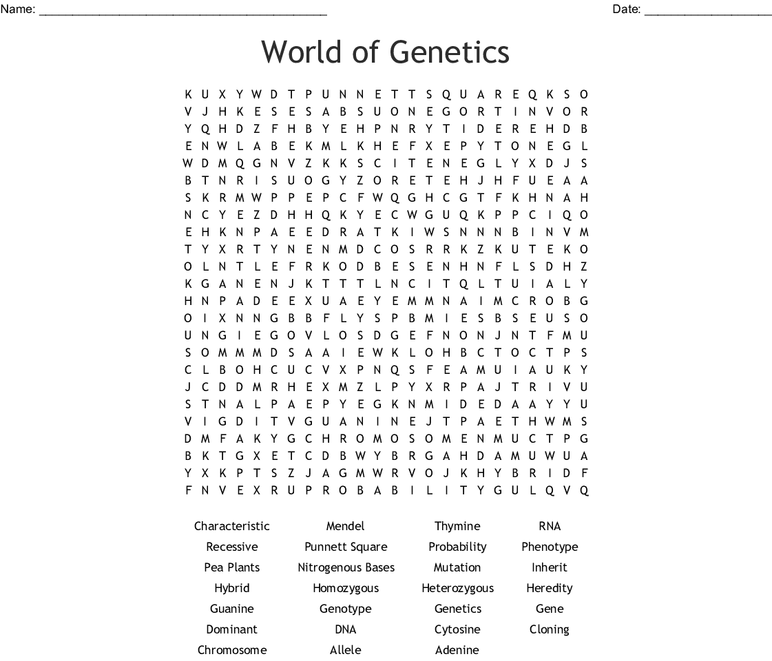 Similar To Cystic Fibrosis Word Search