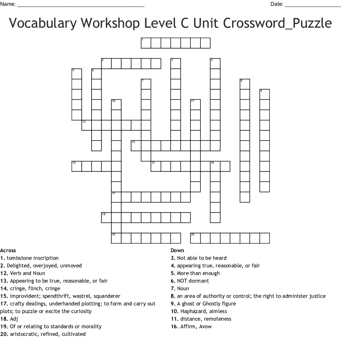 Language Resources Crosswords Word Searches Bingo Cards