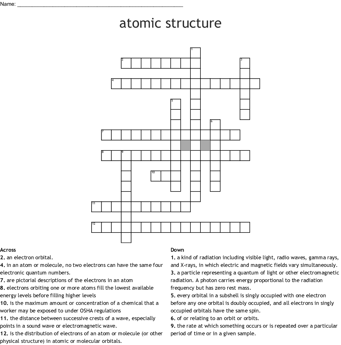 Unit 5 Word Search