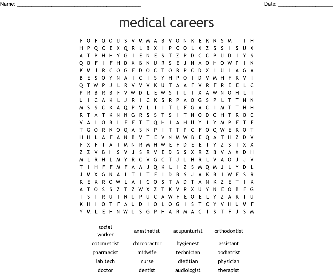 Chapter 3 Careers In Health Care Worksheet Answers