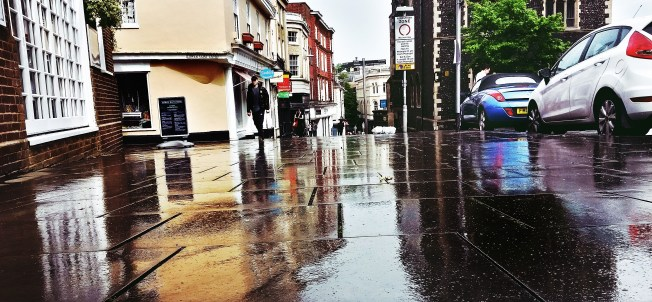 After The Storm ~ St Giles Street ~ Norwich