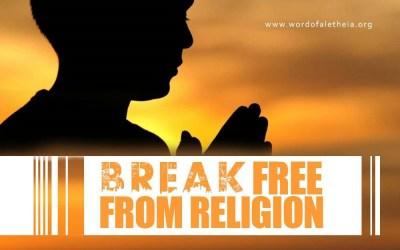 Break Free from Religion