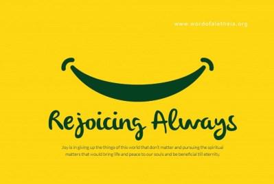 Rejoicing Always
