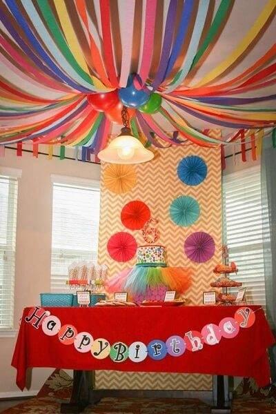 Como decorar a foto da sala de aniversário 06