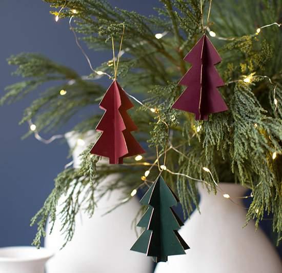 украшения из бумаги на новый год фото 35