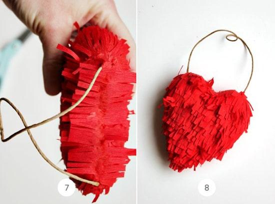 объемное сердце из бумаги своими руками фото 037