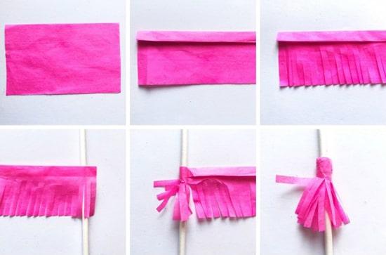 как делать сердечки из бумаги фото 041