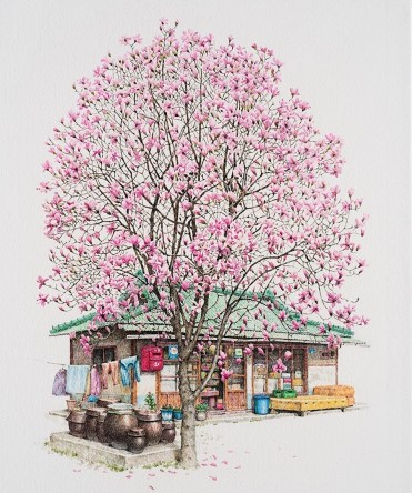 me-kyeoung-lee-south-korean-convenience-store-drawings-8