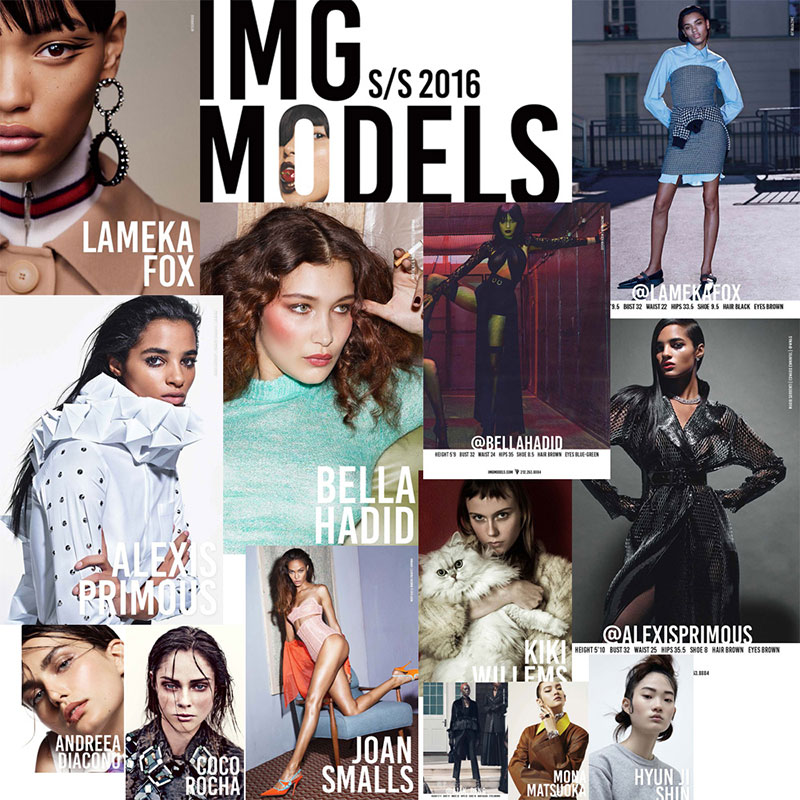 IMG Models SS16 Model Show Package