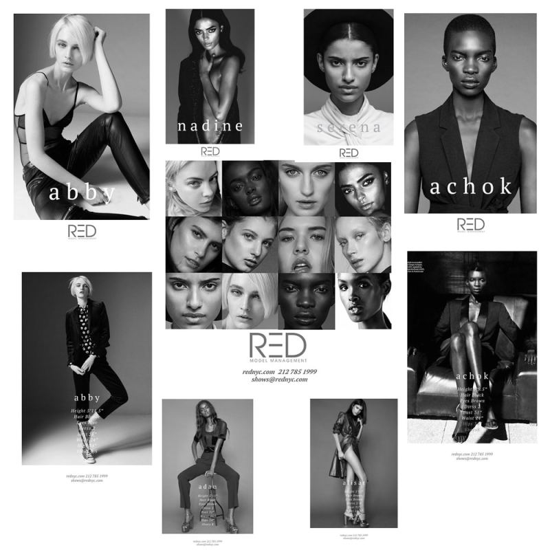 Red Models SS16 Model Show Package