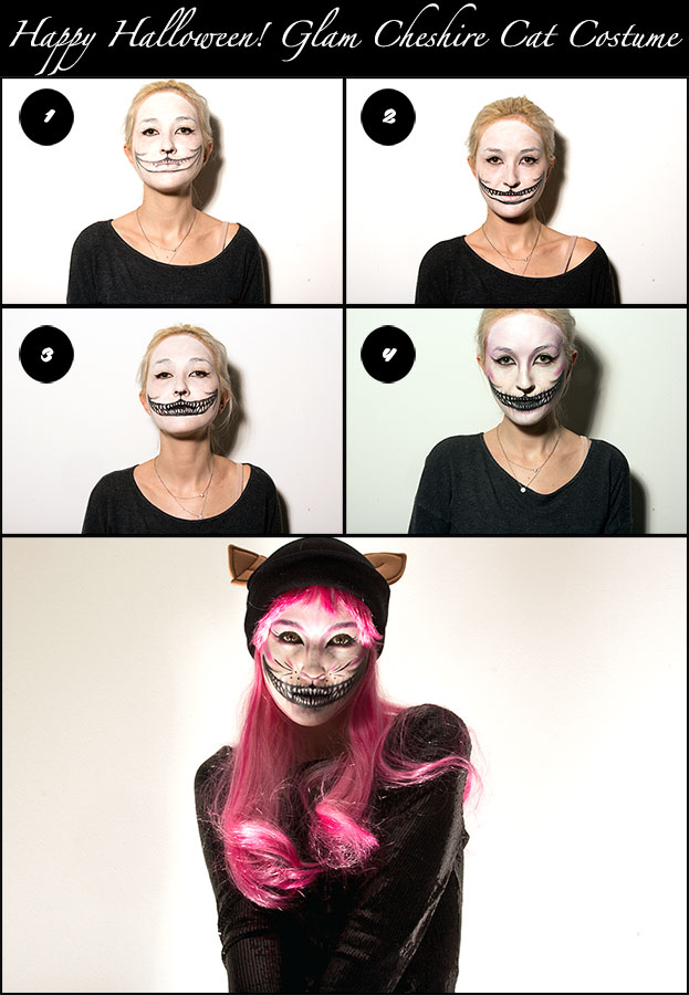 Style-Tomes-Halloween-Cheshire-Cat-Costume-DIY  sc 1 st  Style Tomes & DIY Halloween Costume: Alice In Wonderland Cat