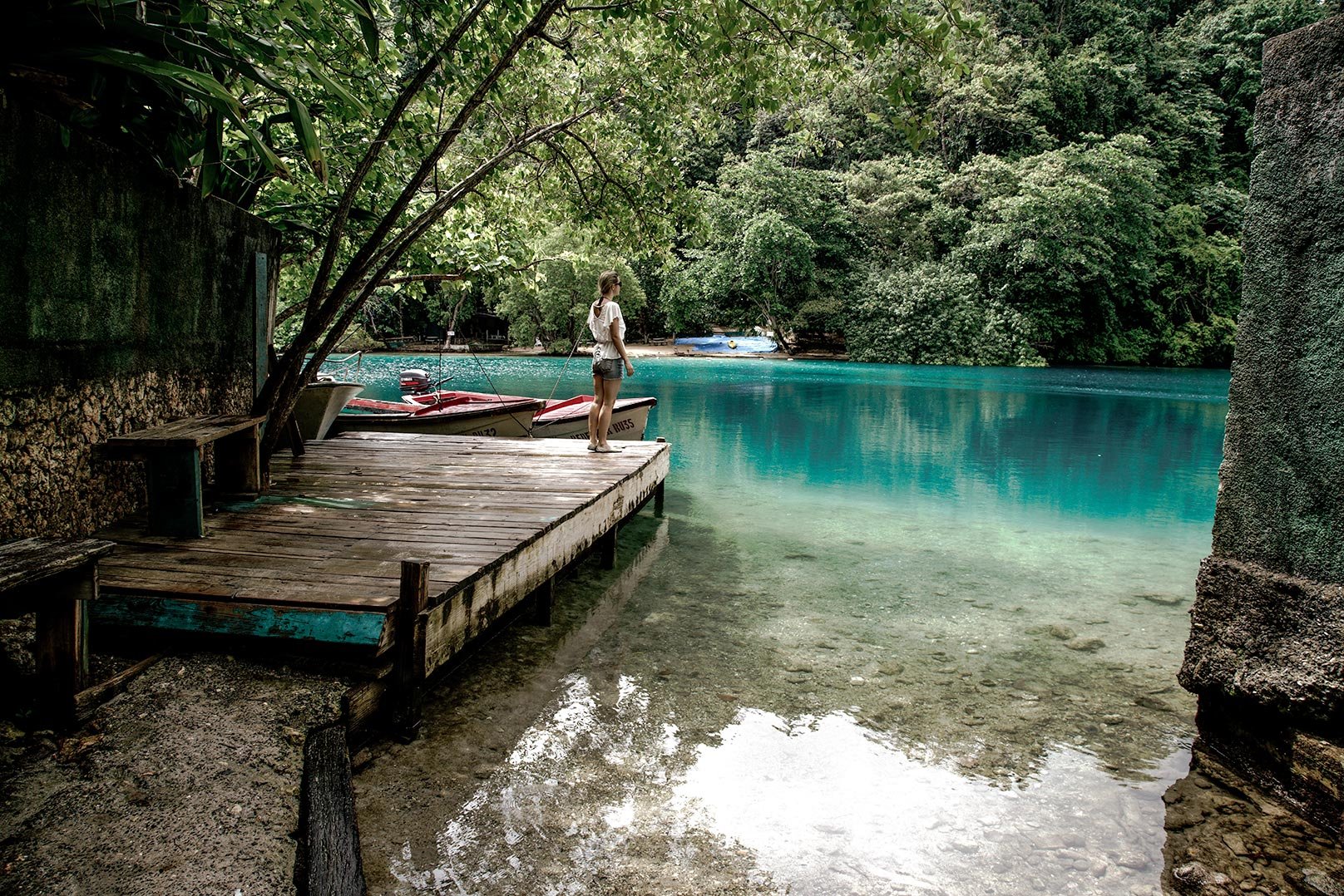 A Guide to Port Antonio in Jamaica. Portland Parish offers everything from the Blue Lagoon to Frenchman's Cove. The natural beauty of the place is astounding. The photo diary explores the lush coast and my stay at Trident Hotel.